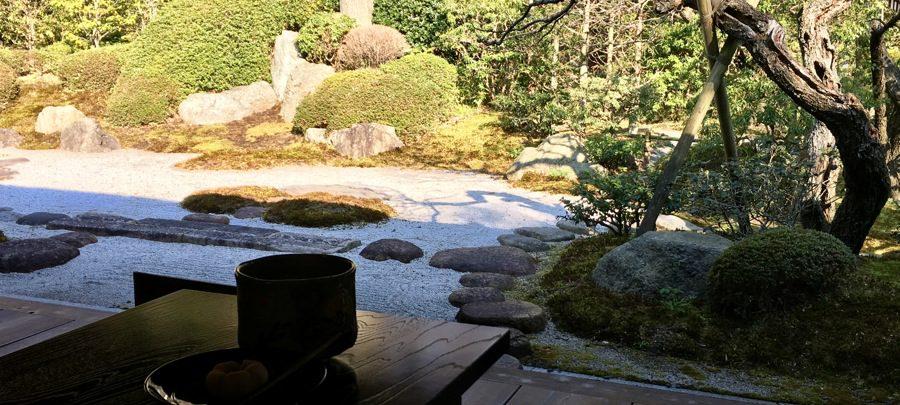 浄妙寺「喜泉庵(きせんあん)」の抹茶