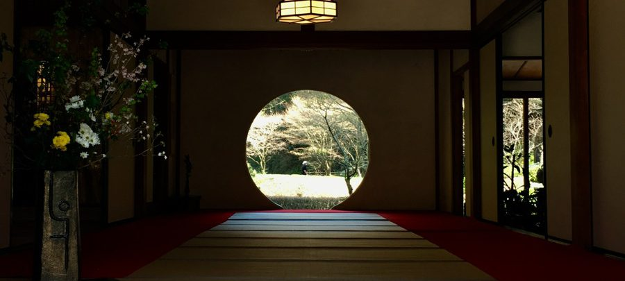 明月院の悟りの窓
