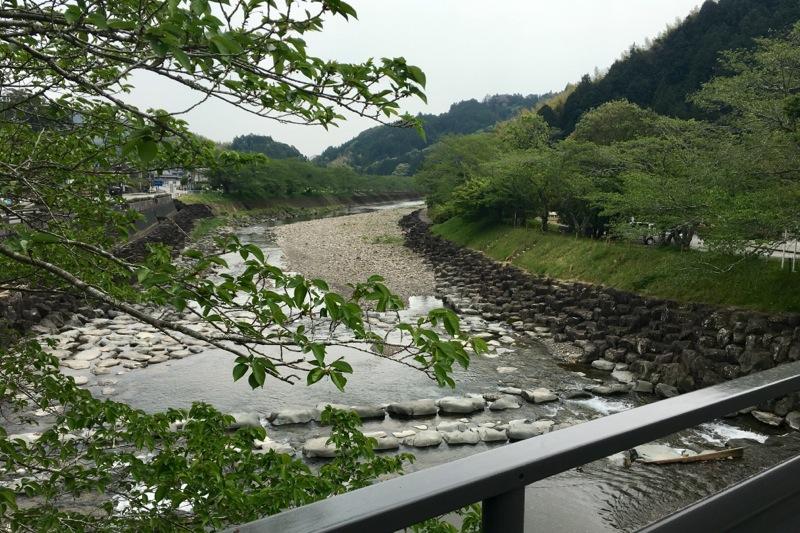 玉露の里の朝比奈川
