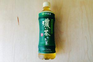 伊藤園おーいお茶 濃い茶 2017年ボトル