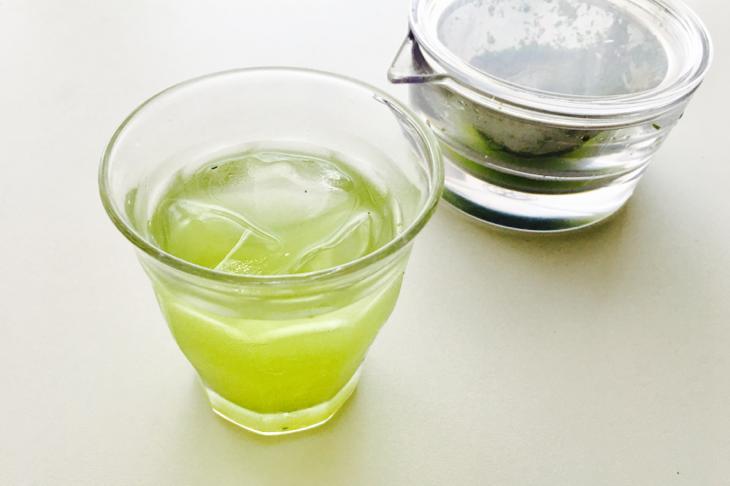 水 出し 緑茶 危険